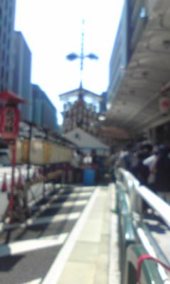 [クロワールスタッフブログ]灼熱の祇園祭り